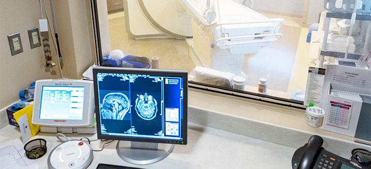 MRI workstation