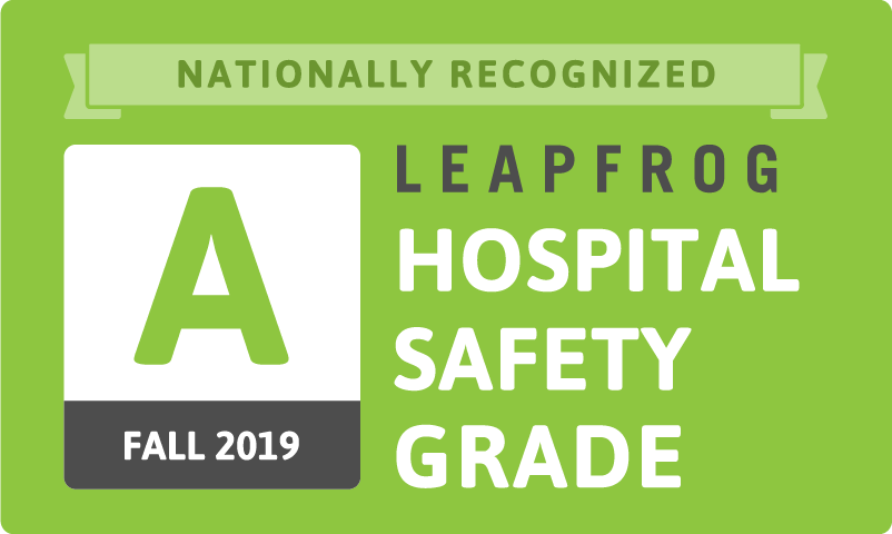 Englewood Hospital Earns 'A' in Fall 2019 Leapfrog Hospital Safety Grade