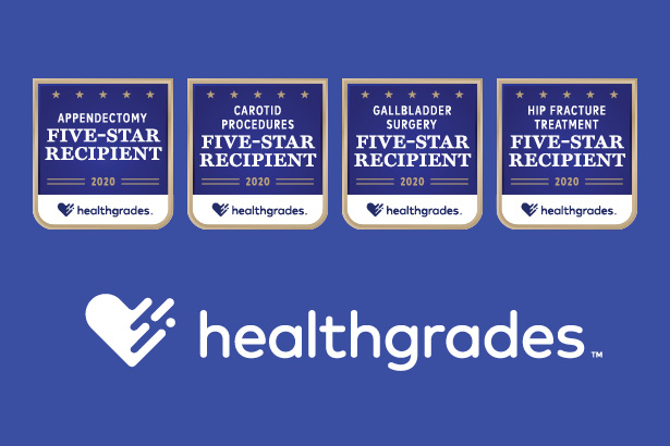 Englewood Hospital Named 5-Star Recipient for Appendectomy, Carotid Procedures, Gallbladder Surgery, Hip Fracture Treatment